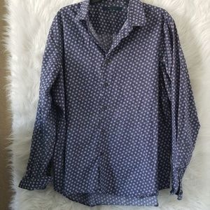 Perry Ellis Slim Fit Button Down